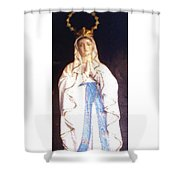 Virgin Mary - Painting Shower Curtain
