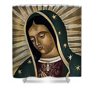 Virgin Of Guadelupe Shower Curtain