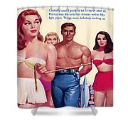 Amazon Planet Shower Curtain