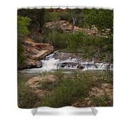 Virgin River Hike - 2  Shower Curtain
