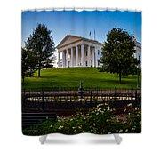 Virginia Capitol Building Shower Curtain