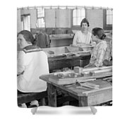 Virginia: Child Labor, 1918 Shower Curtain