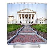 Virginia State Capitol Building Shower Curtain