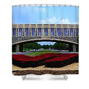 Virginia Tech - Torgersen Bridge Shower Curtain