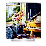 Virginia Waltz Shower Curtain