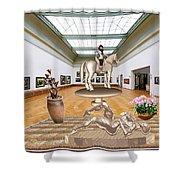 Virtual Exhibition - Girs 31 Shower Curtain