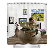 Virtual Exhibition - Source 33 Shower Curtain