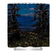 Virtuous Vista Shower Curtain