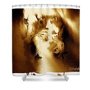 Visage Cache Shower Curtain