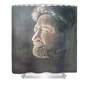 Vishnuvardhan Shower Curtain