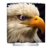 Vision Of Freedom II Shower Curtain