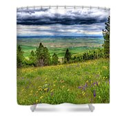 Vision Of Spring Shower Curtain