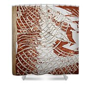 Visions - Tile Shower Curtain