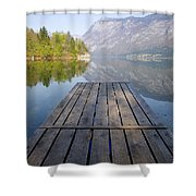 Visions Of Bohinj Shower Curtain
