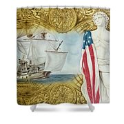 Visions Of Discovery Shower Curtain
