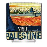 Visit Palestine Shower Curtain