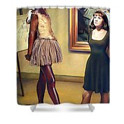 Visit To The Museum Shower Curtain