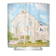 Visitation Monastery Mobile Alabama Shower Curtain