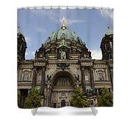 Visiting Berlin 2 Shower Curtain