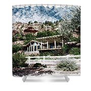 Visitor Center Best Friends Animal Sanctuary Angel Canyon Knob Utah Pa 01 Shower Curtain