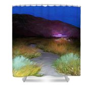 Visitors Shower Curtain