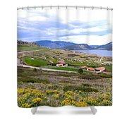 Vista 10 Shower Curtain