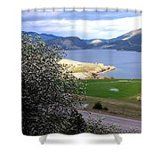 Vista 6 Shower Curtain