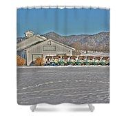 Vista Links Shower Curtain