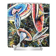 Vistas Of Life Force #64 Shower Curtain