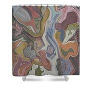 Visual Jazz #20 Shower Curtain
