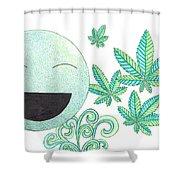 Vitamin K Shower Curtain