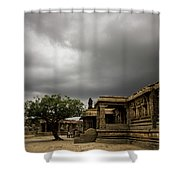 Vittala Temple Shower Curtain