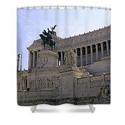 Vittorio Emanuele II Monument Shower Curtain