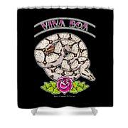 Viva Boa Constrictor Shower Curtain