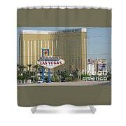 Viva Las Vegas Shower Curtain