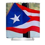 Viva Puerto Rico Shower Curtain