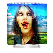 Vivian Mayer Shower Curtain