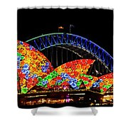 Vivid 15 Shower Curtain