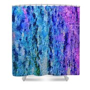 Vivid Calm Shower Curtain