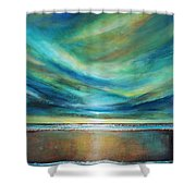 Vivid Sky Shower Curtain