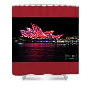 Vivid Sydney 2014 - Opera House 3 By Kaye Menner Shower Curtain