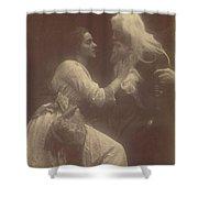 Vivien And Merlin Vivien And Merlin Shower Curtain