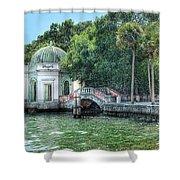 Vizcaya Bridge Shower Curtain