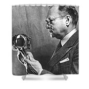Vladimir K. Zworykin Shower Curtain
