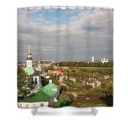 Vladimir City Shower Curtain