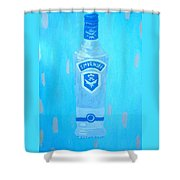 Vodka Shower Curtain