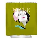Vogue 3 Shower Curtain