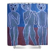 Voices And Music Shower Curtain