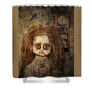 Voices In The Walls Shower Curtain