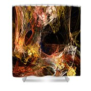 Voids Shower Curtain